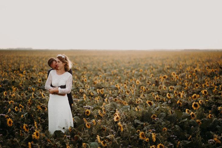 Mariage champêtre Picardie