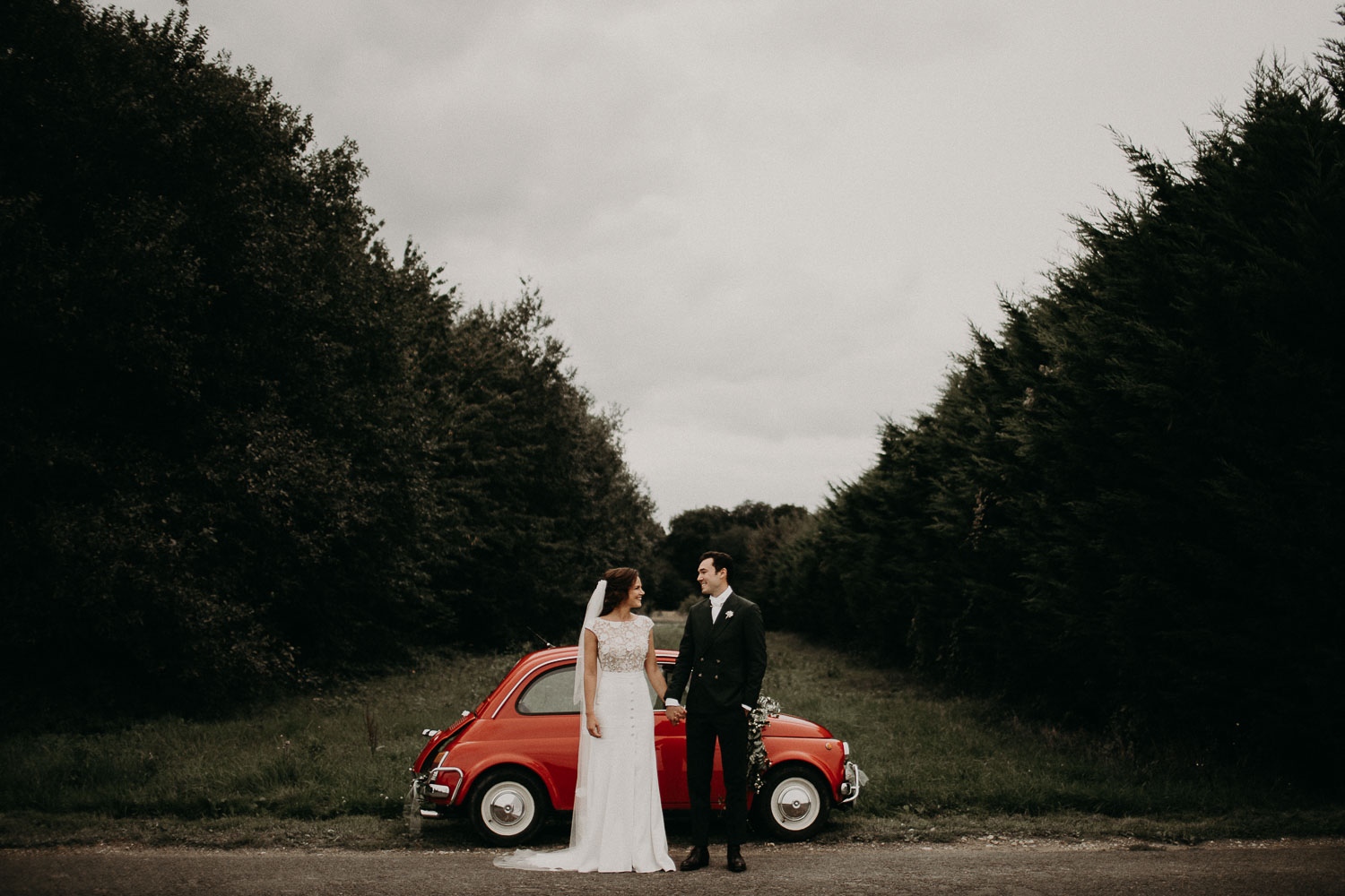 Voiture mariage Fiat 500 Picardie