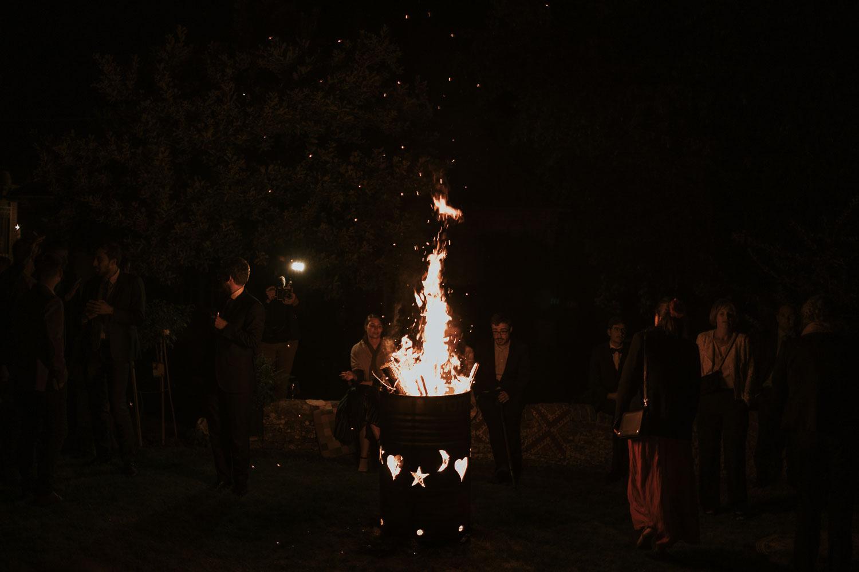 feu d'artifice mariage bohème Amiens