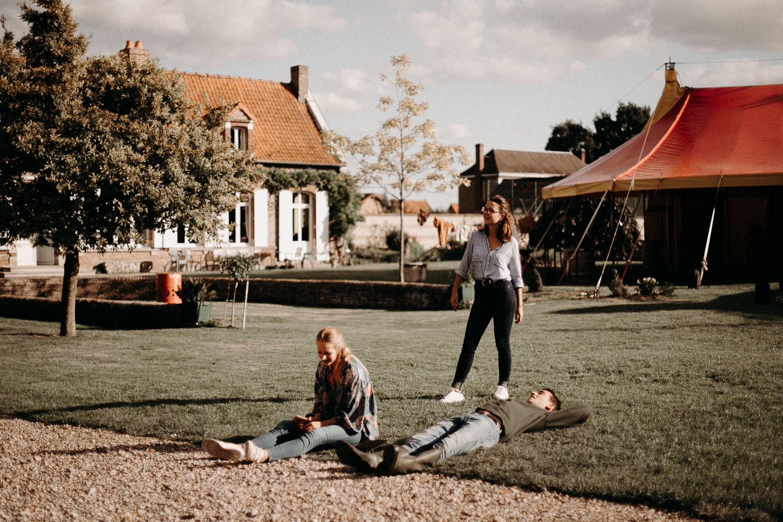 Se marier dans son jardin Picardie